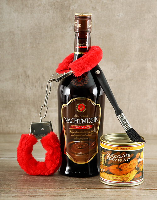 fine-alcohol: Chocolate Bondage Gift!