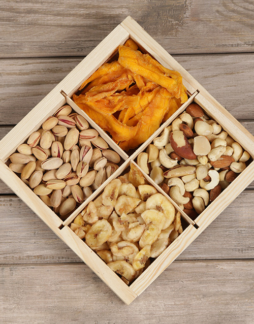 snacks: Snack Attack Nut Hamper Gift!