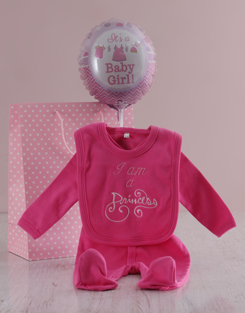 balloon: Little Princess Hamper!