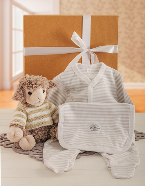 baby: Baby Lamb Gift Set!