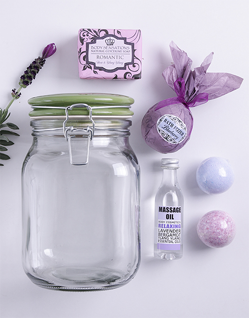 mothers-day: Lilac Bath Time Jar!