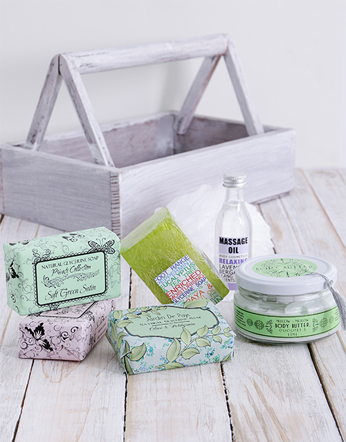 mothers-day: Smooth and Beautiful Feet Crate !