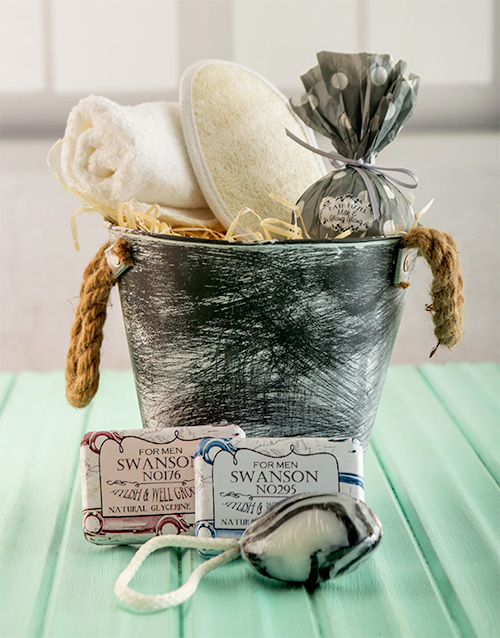 fathers-day: For Mr Handsome Bath Time Bucket !