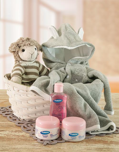 Baby Gift Basket South Africa : Buy bundle of joy gift basket netflorist