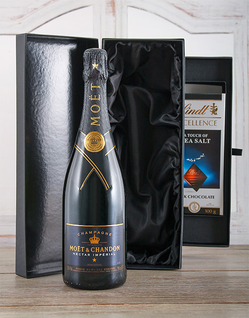 valentines-day: Moet & Chandon Imperial Nectar!