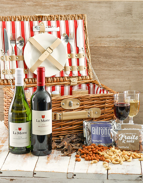 birthday: La Motte Duo Picnic Basket!