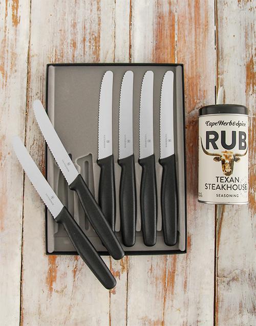 fathers-day: Victorinox Steak Knife Set!