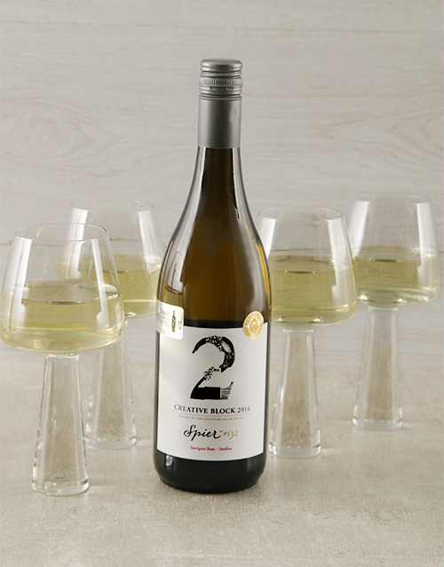 carrol-boyes: Carrol Boyes White Wine Glasses!