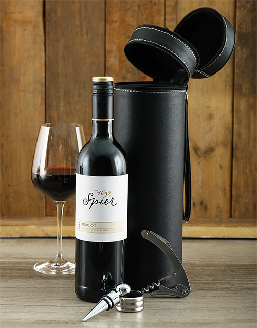 fine-alcohol: Spier and Wine Caddy Hamper!