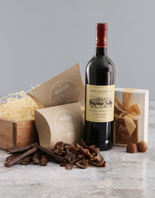 valentines-day: Rupert and Rothschild Biltong Crate Original!