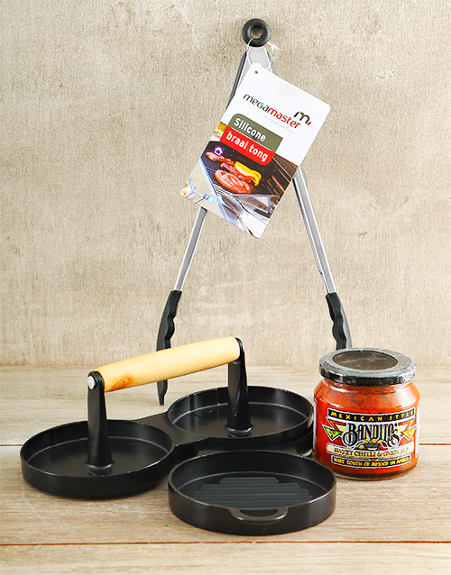 fathers-day: Burger Press Kit!