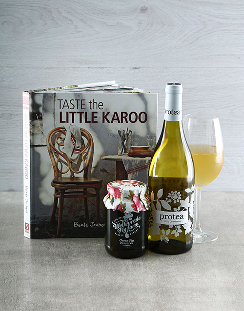 homeware: Taste the Little Karoo Cookbook Hamper!