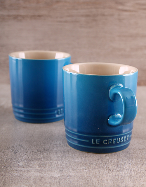 homeware: Le Creuset Double Coffee Mug Set!