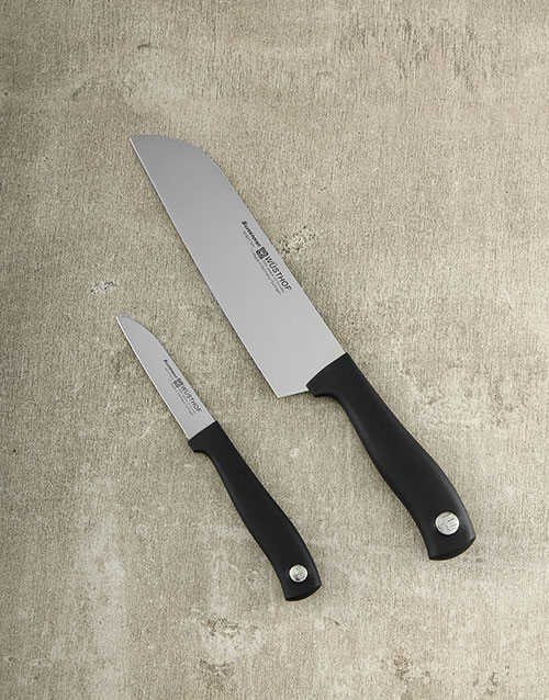 fathers-day: Silverpoint 2pc Knife Set!