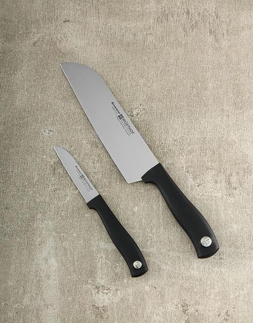 homeware: Silverpoint 2pc Knife Set!