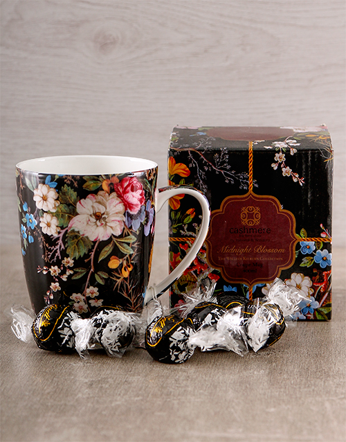 mothers-day: Delicate Floral Mug!