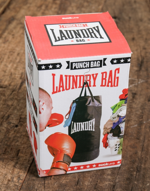 gadgets: Laundry Punch Bag!