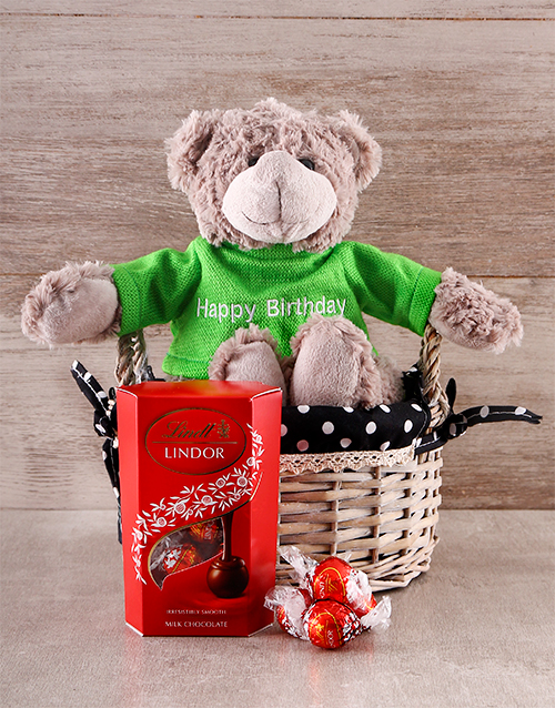 teddy-bears: Lindor Birthday Teddy Combo!