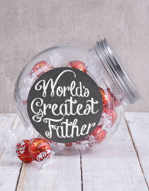 candy-jars: Worlds Greatest Father Candy Jar!
