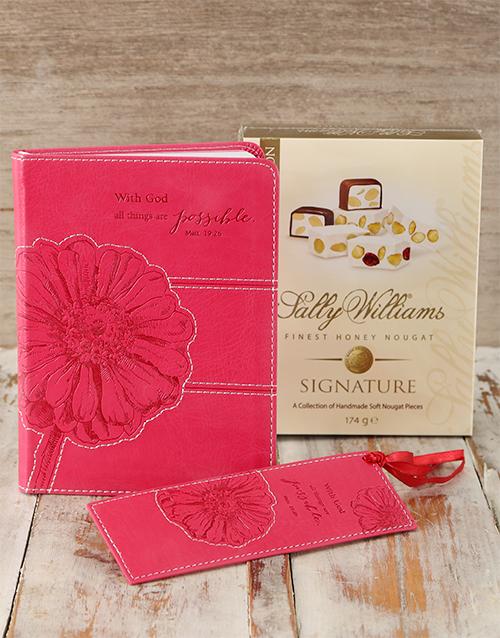 faith: Cerise Journal & Sally Williams Nougat!