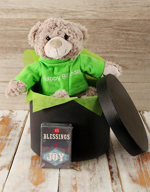 faith: Birthday Teddy and Blessings Gift!