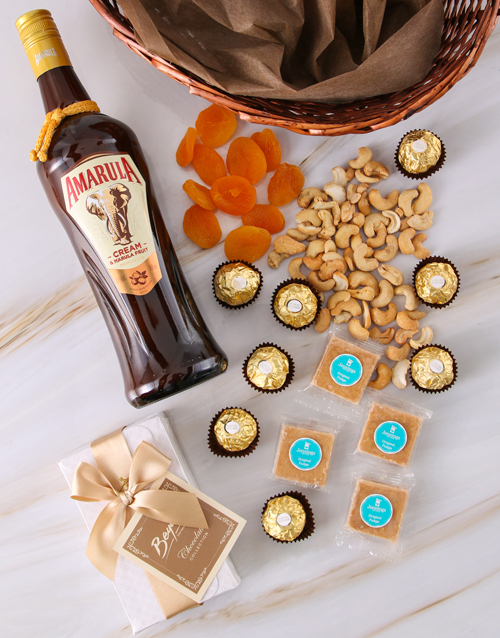 womens-day: Amarula Gourmet Snack Basket!