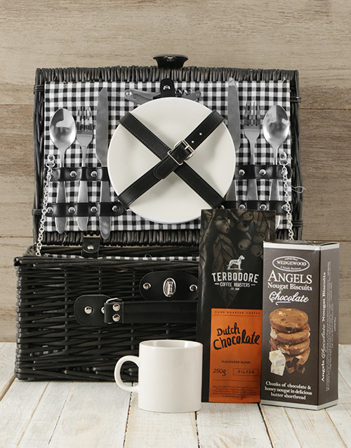 mothers-day: Coffee Lover's Picnic Basket!