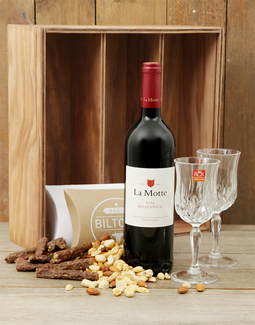 fathers-day: La Motte and Crystal Glasses Crate!