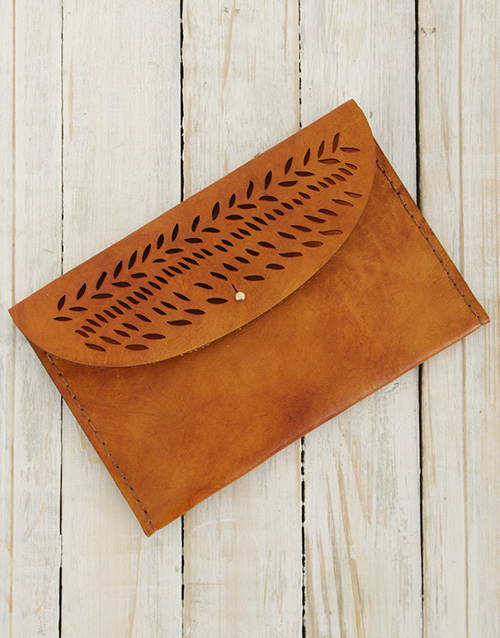 mothers-day: Ilundi Geometria Autumn Leaves Clutch !