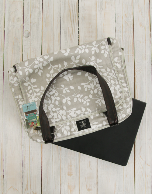 mothers-day: Peppertree Leaflet Latte Business Bag!