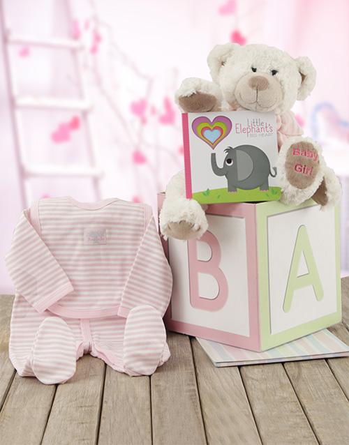 baby: ABC Baby Girl Gift Box!