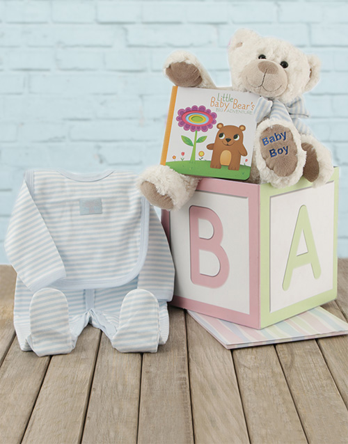 baby: ABC Baby Boy Gift Box!