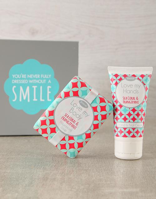 teachers-day: Sea Coral Hand Cream & Soap Duo!