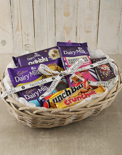 mothers-day: Cadbury Chocolate Hamper Basket!