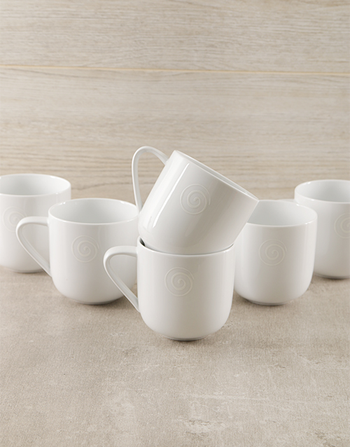 carrol-boyes: Carrol Boyes Swirl Mugs!