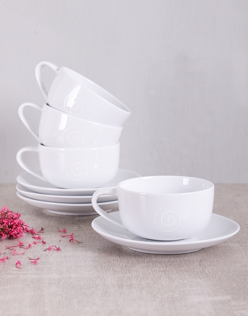 house-warming: Carrol Boyes Cup & Saucer Gift!
