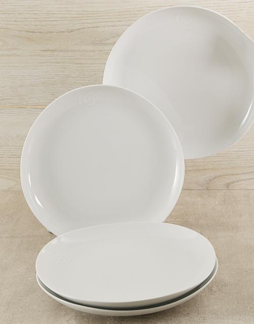 house-warming: Carrol Boyes Swirl Dinner Plate Set!