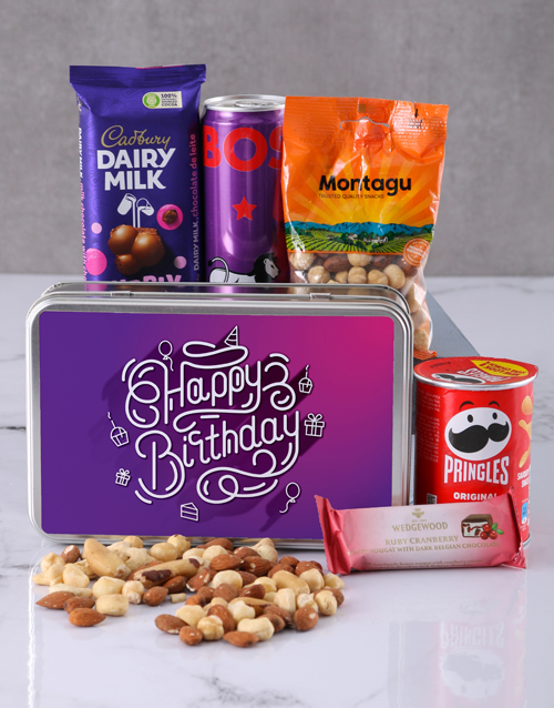 gourmet: Birthday for Her Snack Tin!