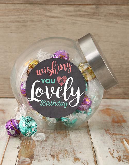 Candy Jars Birthday Wishes Jar