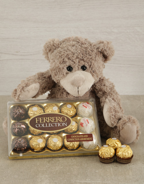 chocolate: Teddy & Ferrero Duo!
