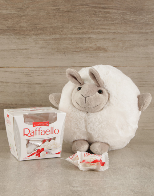 chocolate: Cuddly Sheep & Raffaello Duo!