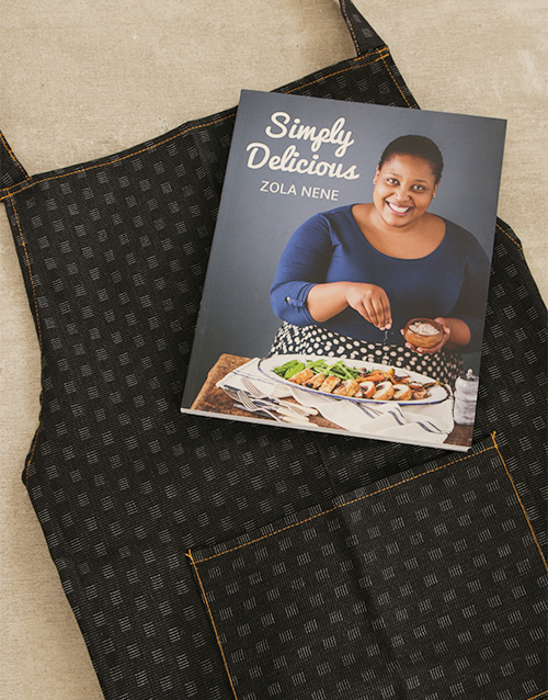 mothers-day: Simply Delicious Cookbook and Apron!