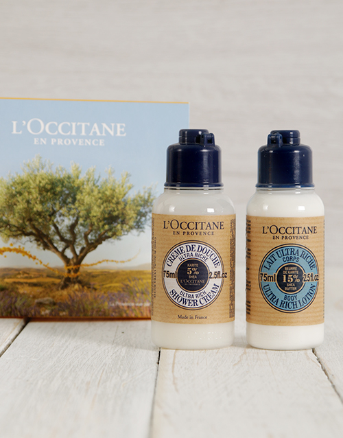 mothers-day: LOccitane Shea Butter Travel Set!