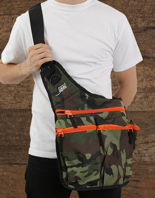 baby: DaddyKool Camo Diaper Bag!