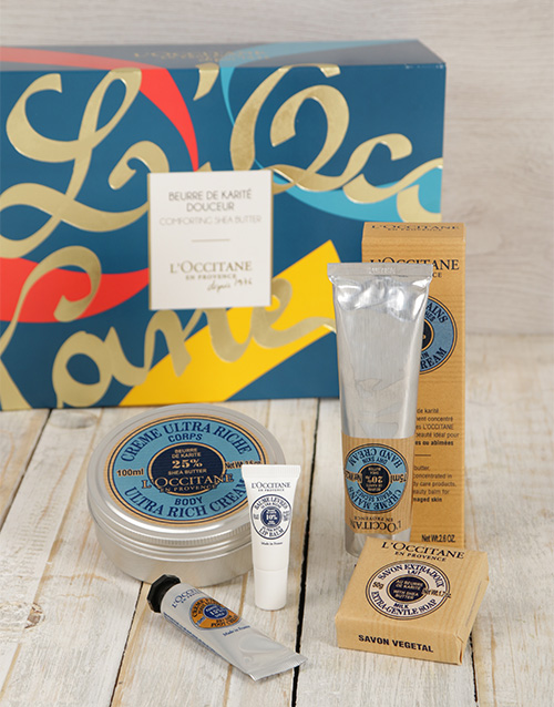 birthday: L'Occitane Comforting Shea Butter Gift Set!
