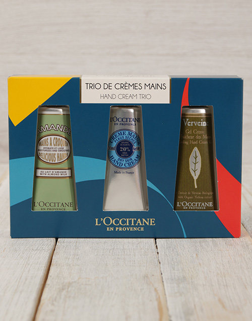 mothers-day: LOccitane Hand Cream Trio!