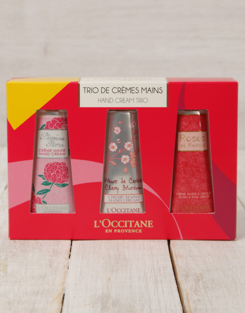 mothers-day: L'Occitane Floral Hand Cream Trio!