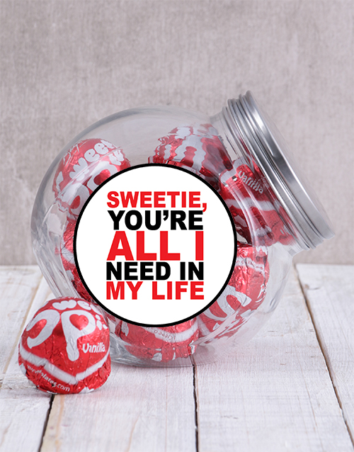 chocolate: My Sweetie Candy Jar!