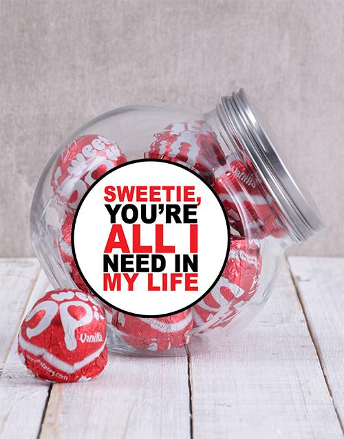 valentines-day: My Sweetie Candy Jar!