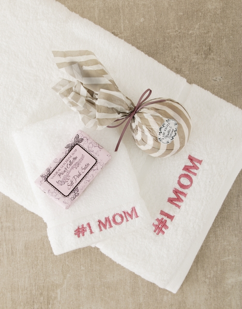 mothers-day: Number 1 Mom Bath and Body Gift Set!